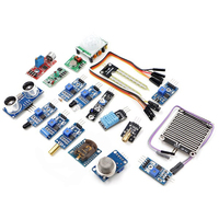 New 16 Kinds Of Sensors Kit For PI2 PI3 Raspberry Pie Raspberry Pi 2 Demo Board