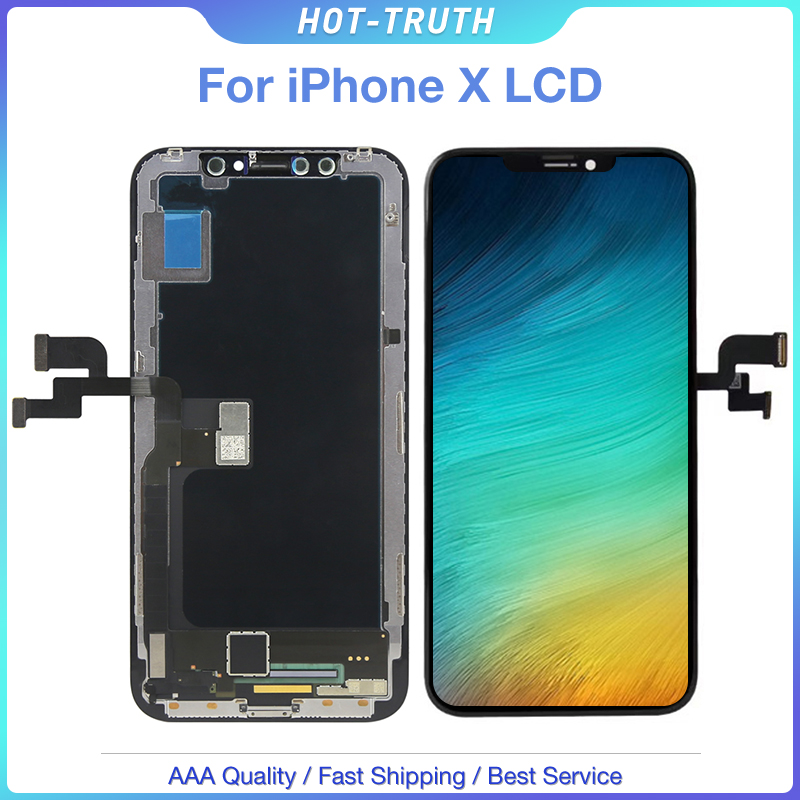 1PC New SOFT OLED Quality LCD Screen for iPhone X 10 5.8 LCD Display Digitizer Assembly Replecment1PC New SOFT OLED Quality LCD Screen for iPhone X 10 5.8 LCD Display Digitizer Assembly Replecment