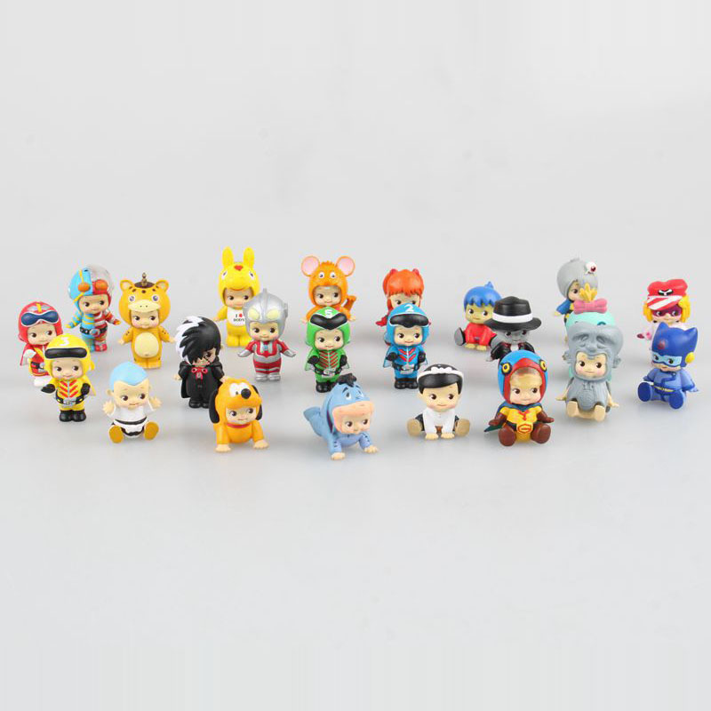 Sonny Angel Mini Anime Cosplay 25pcs/set PVC Action Figures Collectible Model Toys Dolls Kids Gifts Boxed Holiday gifts