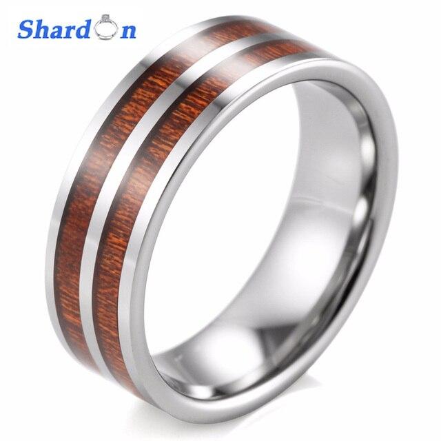 Shardon Band Runde Manner Ringe Eheringe Manner Ring Sportliche