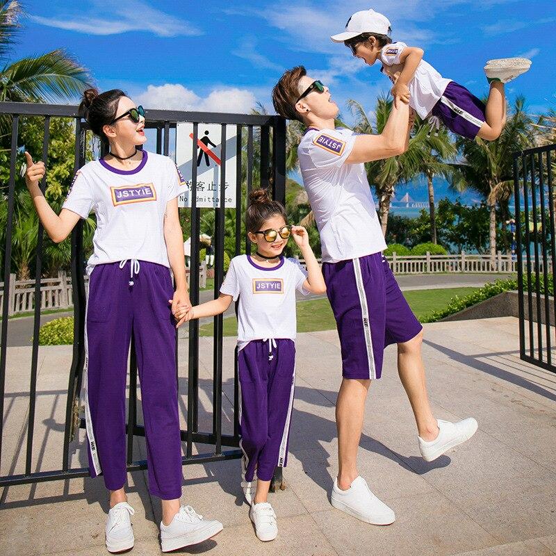 Geschwister Kleidung Set f/ür Schwester Bruder Kurzarm Brief Shirt Camo Pant Outfits