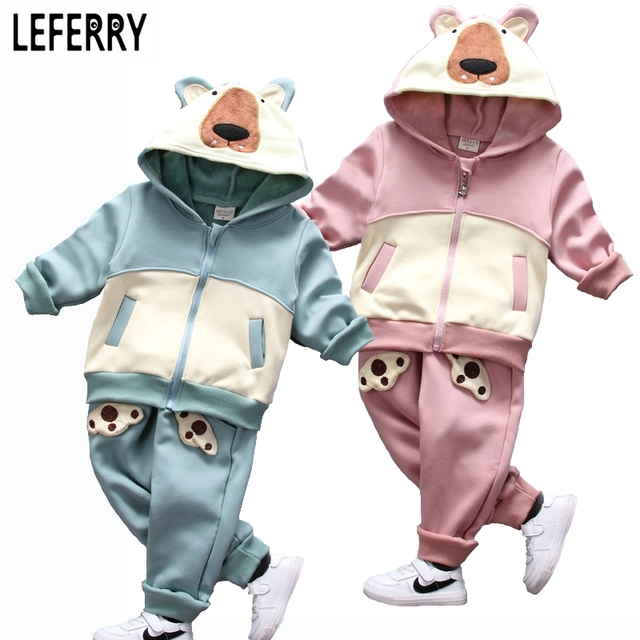 2016 Kids Clothes Girls Boys Winter Clothing Set Toddler Boy Clothing Set Kids Boys Clothes Sets Children Clothes Girls Hoodies