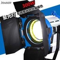 Фотографическое люминесцентная лампа 4 футов 4 трубки kinoflo Лампа подключен к шнур питания разъем 16 core мужской головы CD50