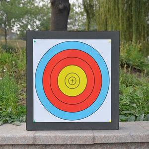 Image 4 - Archery Black EVA Foam Target Self Healing 2 Sided 20x20x2.4 inch Compound Recurve Bow Hunting Arrows Target Paper for Shooting