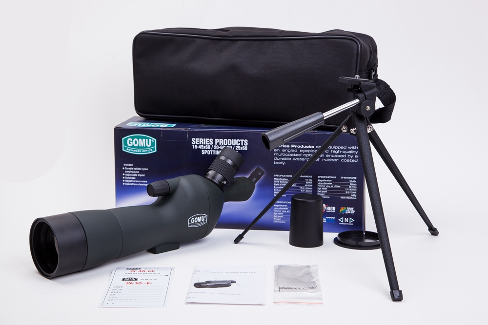Spotting Scope HD Monocular Outdoor Telescope With Portable Tripod monoculares20-60x60 Professional telescope+Cell Phone Adapter hot selling 15 40x50 zoom hd monocular bird watching telescope binoculars with portable tripod spotting scope blue coating