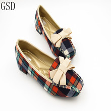 Купить с кэшбэком fashion  Women's shoes comfortable flat shoes  New arrival -A2299-7 Ballet Flats shoes large size shoes Women  flats