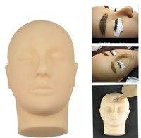1 unid Venta Suave Mannequin Head Training para Práctica Kit de Extensión de Pestañas maquillaje Práctica