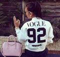 2016 Autumn Winter Women Sudaderas Mujer Bomber Baseball Jacket Lady Bomber Vogue 92 Coats