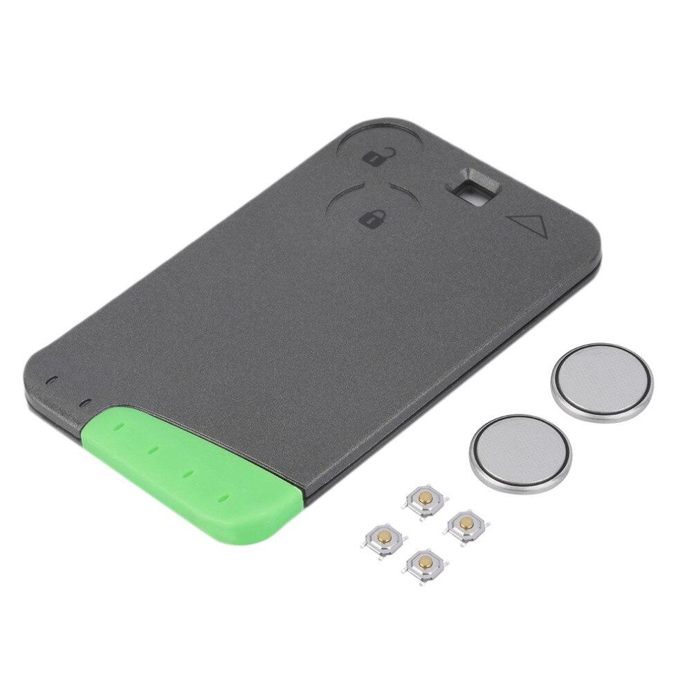 2 button remote car car key case flip fob car car key shell repair kit for renault. Black Bedroom Furniture Sets. Home Design Ideas