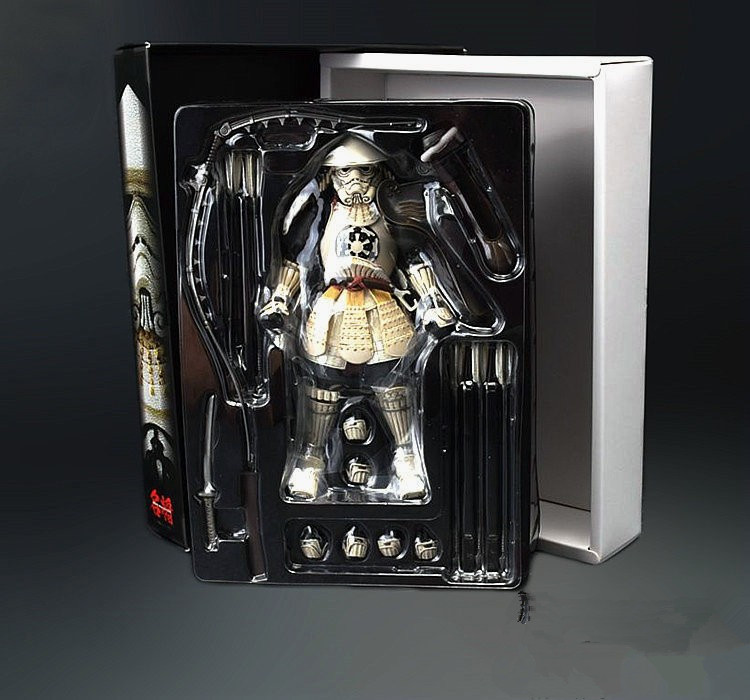 Star Wars Ashigaru Stormtrooper PVC Action Figure Collectible Model Toy