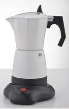 Electric espresso mocha  coffee maker/mocha coffee pot with high quality,and perfect gift for everyone