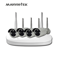 8CH Full HD 1080P CCTV Security System 2CH 1080P Indoor Outddoor IP Camera Wifi 4CH POE