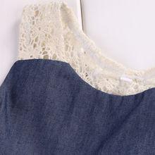 Denim Clothing Set For Baby Girl