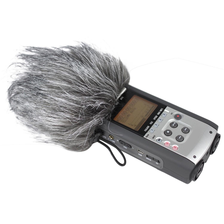 Меховой микрофон Besegad, ветрозащитная муфта, микрофон из искусственного меха, ветрозащитная муфта для Zoom H1 H2N H4N Q3 Q3HD Sony D50, записывающее устрой...