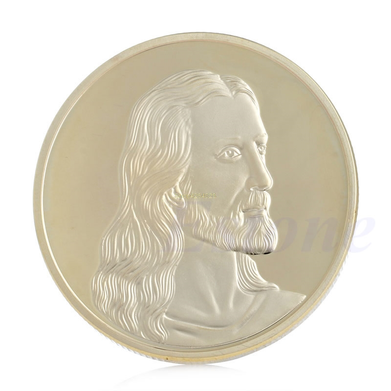 Jesus last supper commemorative coin collection collectible christmas gift G$EC