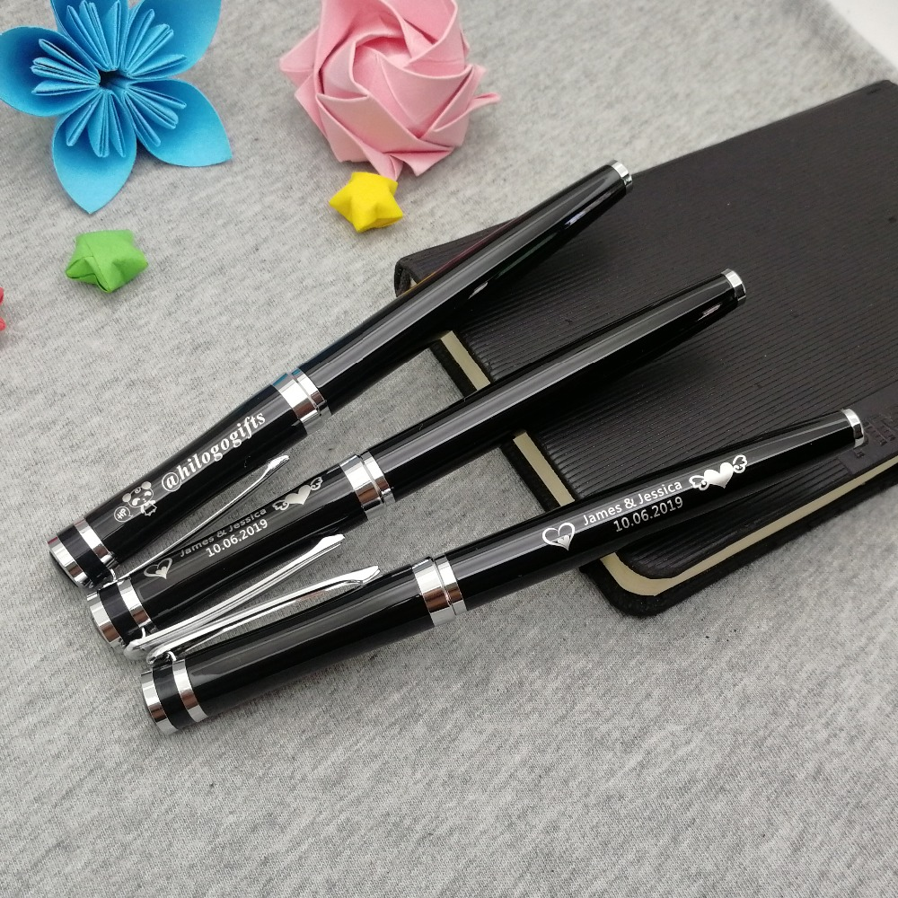 Boss wanted heavy writing pen classical silver clip pen custom free with your cdr and pdf logo best business promotional gifts in Banner Pens from Office School Supplies