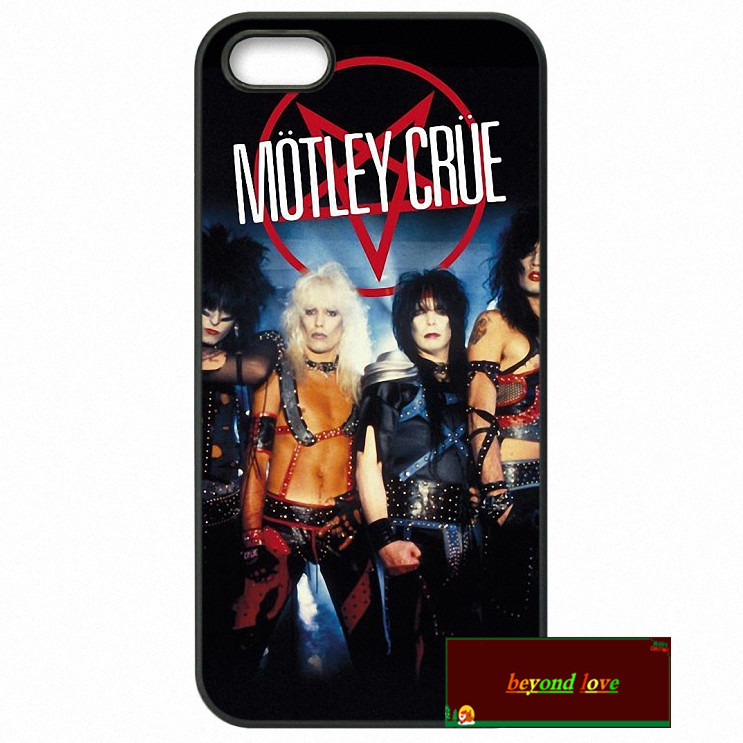 Motley Crue nikki sixx fashion Cover case for iphone 4 4s 5 5s 5c 6 6s