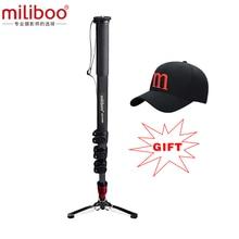 Buy 2017 miliboo MTT705B Professional  Carbon Fiber Camera Tripod without Hydraulic Head / monopod dslr stand free shipping
