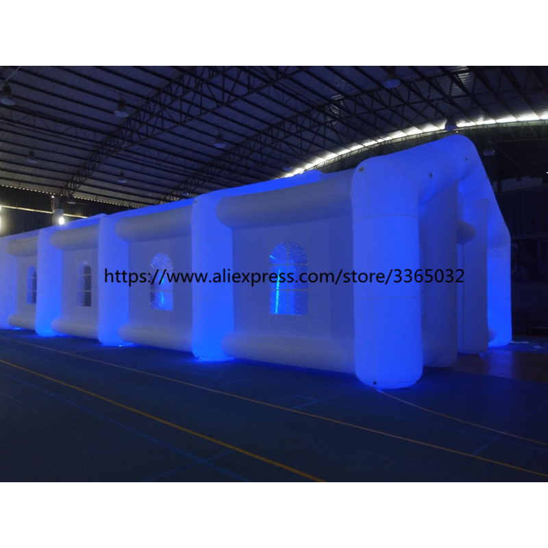 Colorful Led Light Outdoor Large Inflatable Tents For Event Prices For Sale Wedding