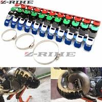 Universal Motorcycle Exhaust Muffler Pipe Heat Shield Cover Guard FOR KTM Honda CB 599 919 400