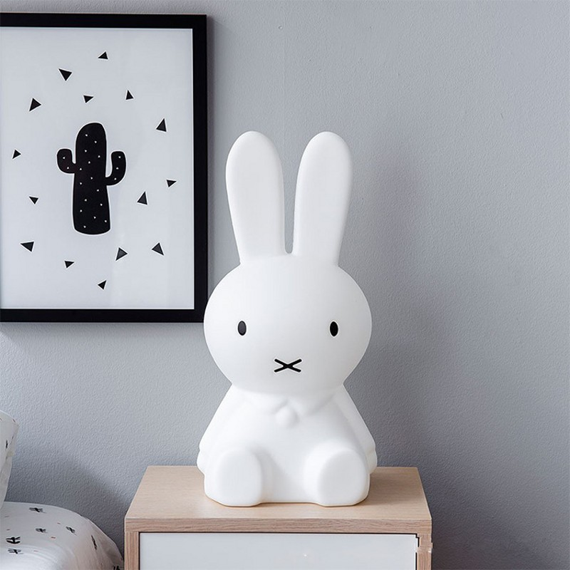 80CM Rabbit Night Light LED 50CM Brown Bear Night Light Christmas Day Gift Children Animal Cartoon Home Decoration Lighting Lamp colorful led rabbit night light bear table lamp rechargeable children baby kids birthday christmas gift animal cartoon led lamp