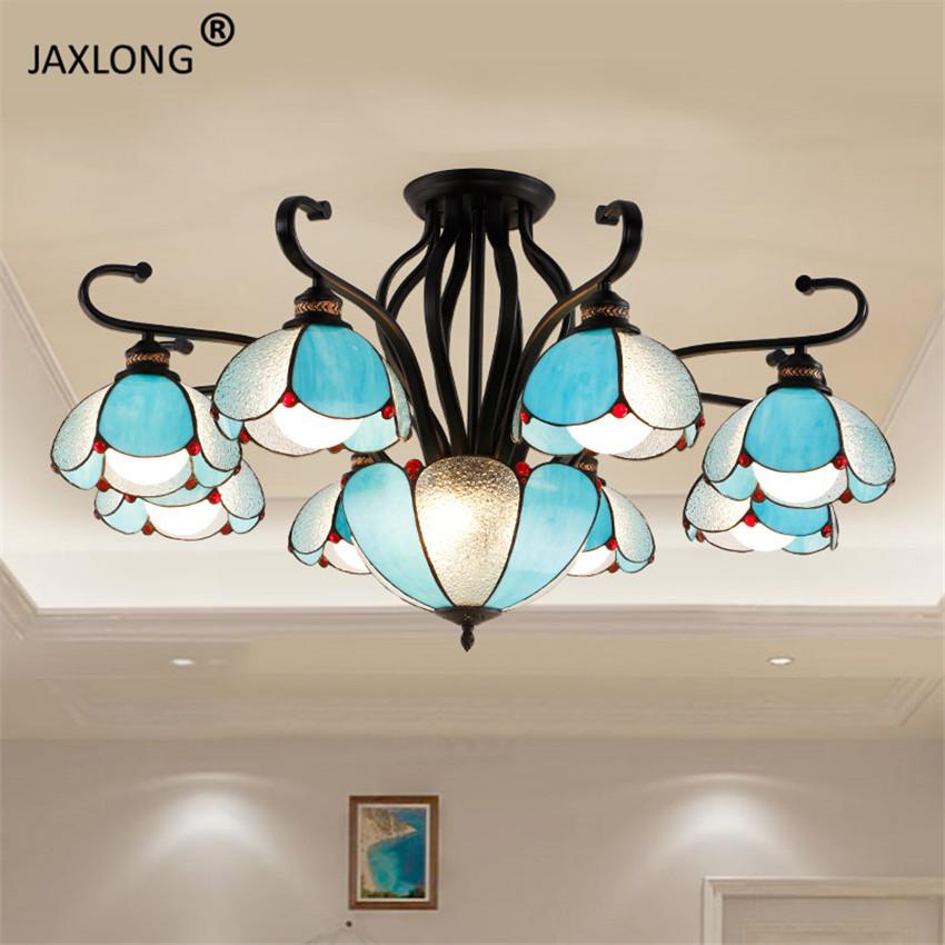 Modern American Style LED Chandelier Lights & Lighting Living Room Bedroom Personality Interior Decoration Chandelier Lighting
