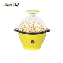 ITOP Electric Popcorn Machine Yellow 3L Automatic Popcorn Maker  Snack DIY Children Gift High Quality Fast Shipping EU/US/UKPlug