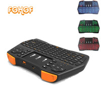 I8 Plus Wireless Keyboard 2 4GHz Russian English Letters Air Mouse Remote Control Touchpad For Android