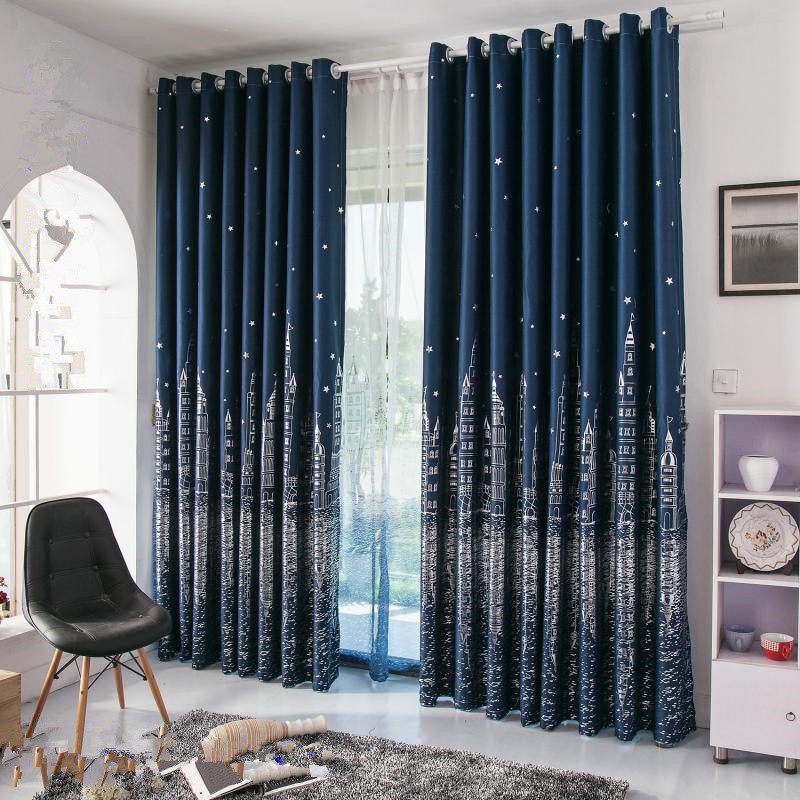 Online Buy Wholesale Navy Blue Curtains From China Navy