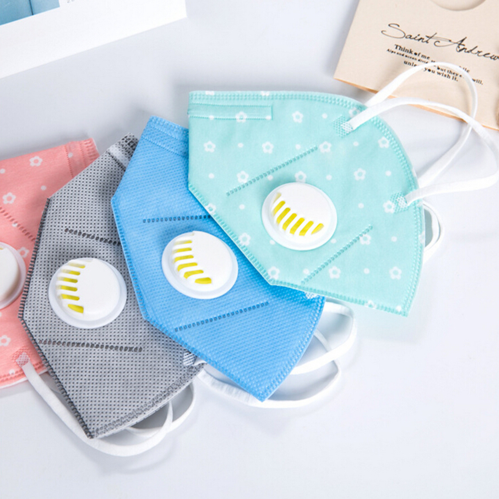 Mouth Mask Cotton Cute PM2.5 Anti Haze Black Dust Mask Nose Filter Windproof Face Muffle Bacteria Flu Fabric Cloth Respirator