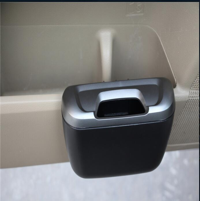 1Pc Car trash can Side door storage box For <font><b>KIA</b></font> RIO K2 Polo CC Ford Kuga Chevrolet Cruze Nissan Peugeot Toyota Car Styling image