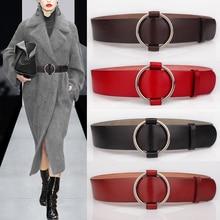First layer of cowhide down coat belt female dress one-piece dress cummerbund genuine leather fashion all-match decoration strap