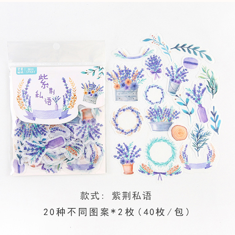 Mohamm кошка цветок дневник деко мини бумага декоративный космический календарь милые наклейки Скрапбукинг журнал хлопья канцелярские товары - Цвет: Q