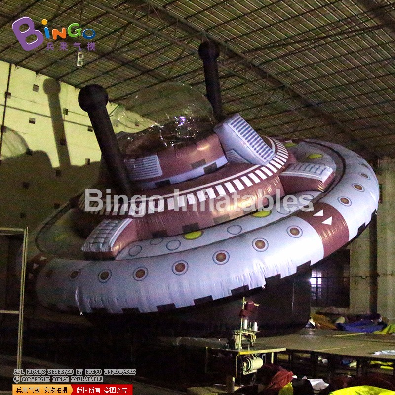 big inflatable UFO display balloon model for advertising events 7m (2)