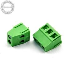 Винтового типа PCB Терминальный Блок KF128 2-10pin DG128 5.08 ММ 300 В/10A сращены 20 шт./лот
