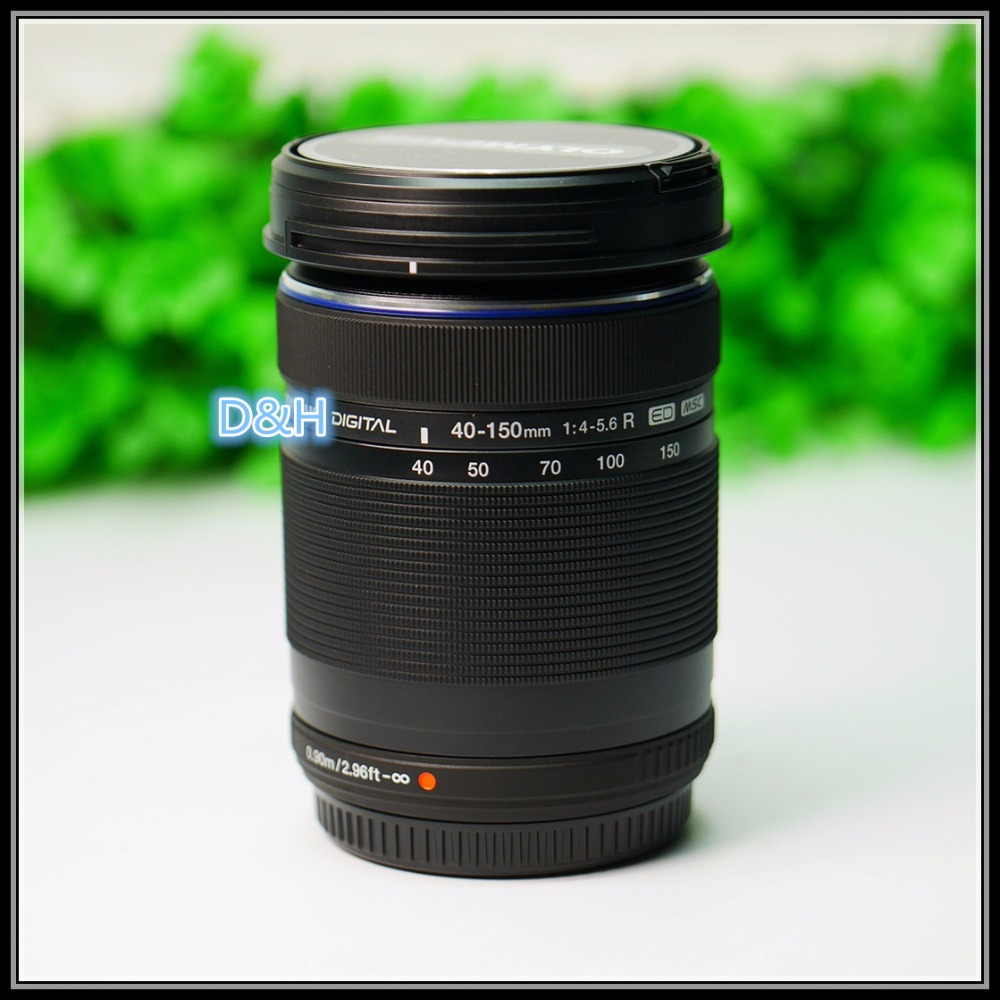No box New M.ZUIKO DIGITAL ED 40-150mm f/4-5.6 R lens For Olympus E-PL8 E-PL7 E-PL6 E-PL3 E-PL1 EP3 EP5 E-M1 E-M5 E-M10 camera цена и фото