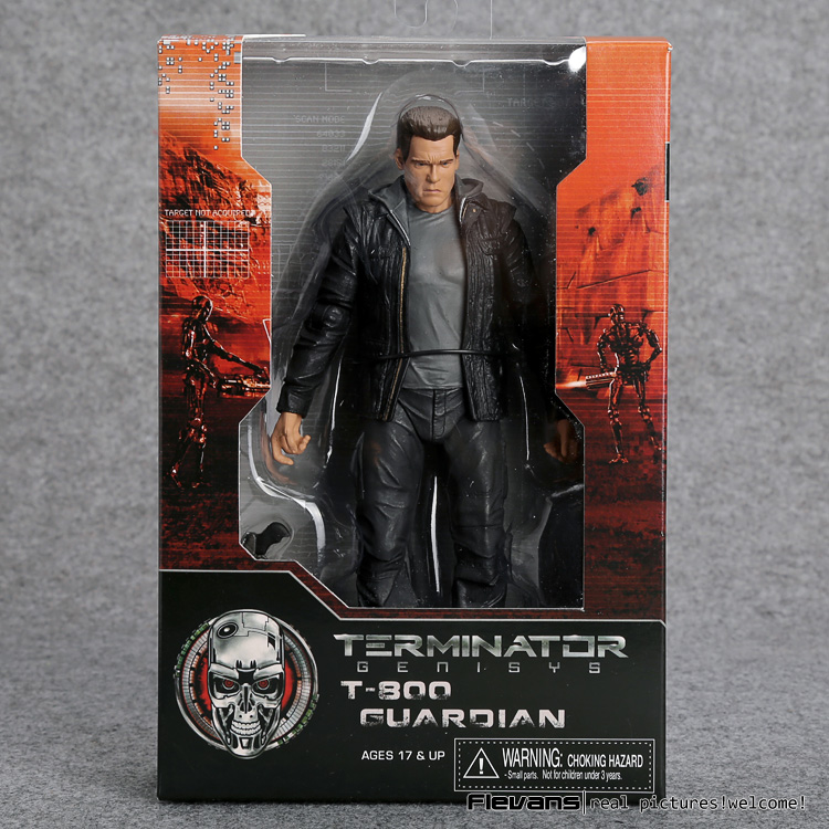 Terminator Genisys T-800 Guardian PVC Action Figure Collectible Model Toy 7 18cm