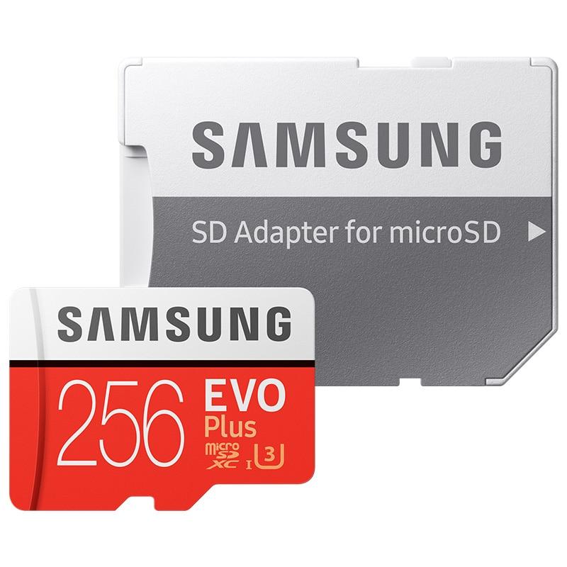 Samsung Micro SD card EVO Plus 32GB Memory Card 64GB 128GB 256GB Class10 TFCard SDHC/SDXC UHS-1 Sdcard Carte sd tarjeta Tablet mixza class10 sdhc micro sd memory card monkey year edition 32gb