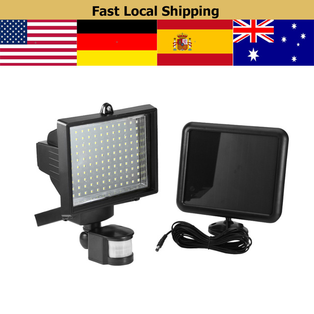 120led solar light wall mounted solar spotlight w pir sensor motion 120led solar light wall mounted solar spotlight w pir sensor motion detector bs3 aloadofball Image collections