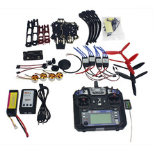 Full Set RC Drone Quadrocopter Aircraft Kit Q330 Across Frame 6M GPS APM 2.8 Flight Control FS-i6 6CH Transmitter F11797-F