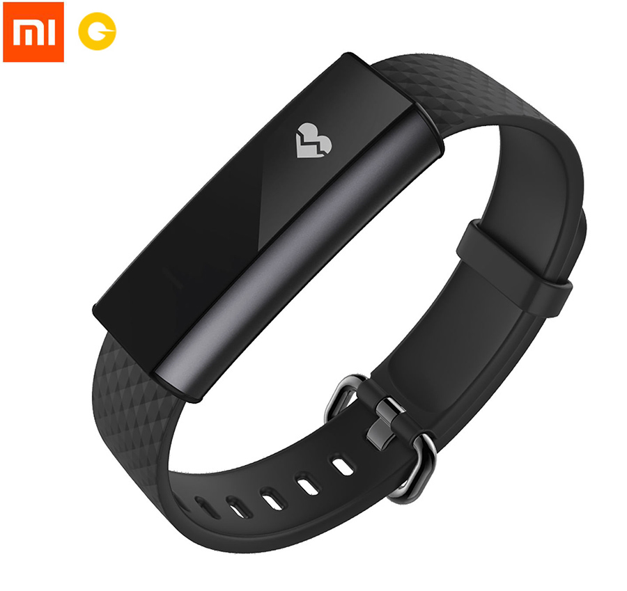 цены  English Version Xiaomi Amazfit A1603 Wristband Arc Activity, Smart Heart Rate & Sleep Tracker with OLED Strap Touchscreen, Black