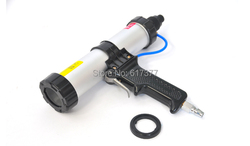 Free shipping 9 inches for 310ml cartridge type air caulking gun air silicon gun