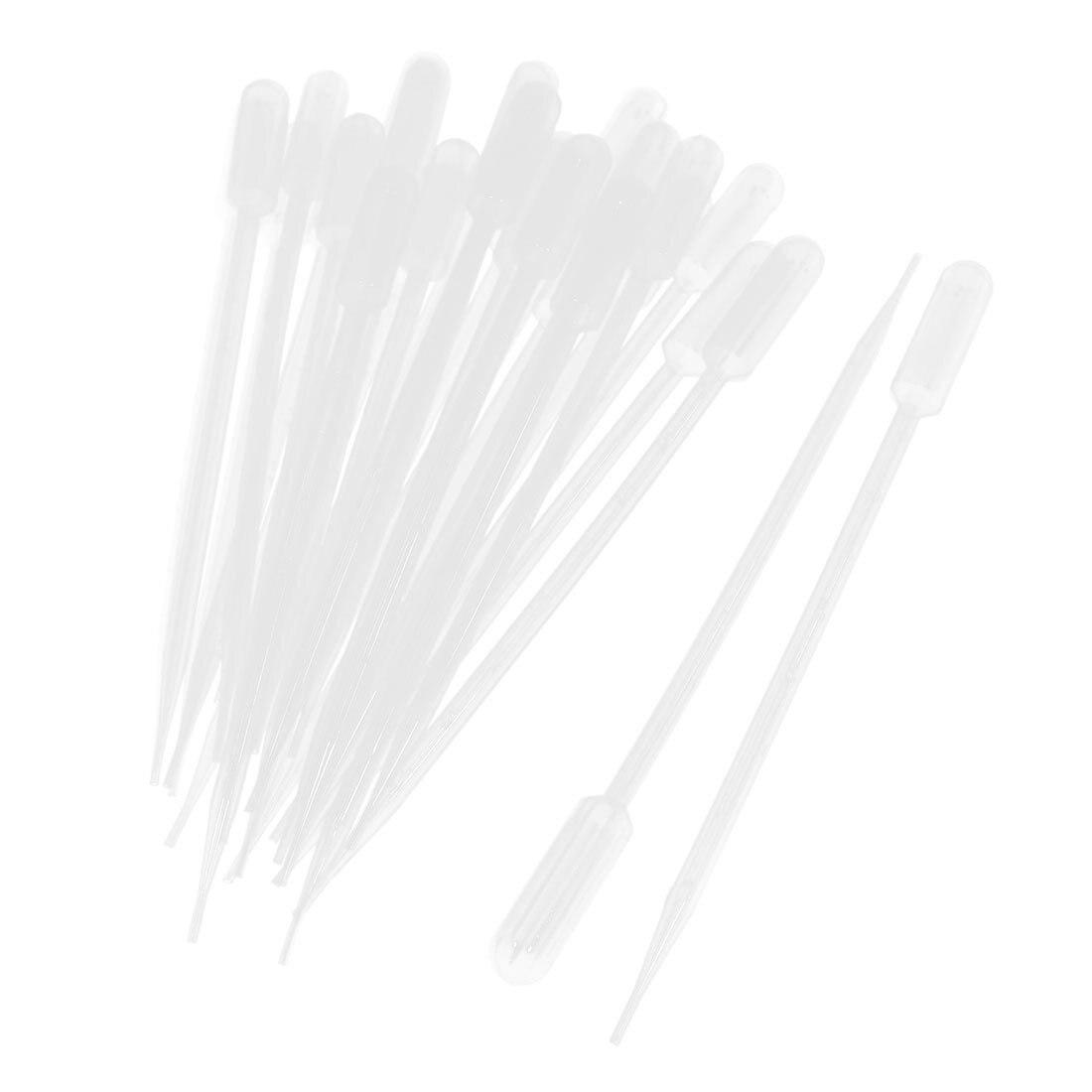 50 pezzi 10 ml di Plastica Trasparente di Trasferimento Pipetta Pasteur Pipettes Droppers