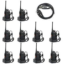 Baofeng BF-888S Two Way Radio (Pack of 10) and USB Programming Cable (1PC)+earpiece+ Russia-Moscow Stock смеситель russia moscow 2550s