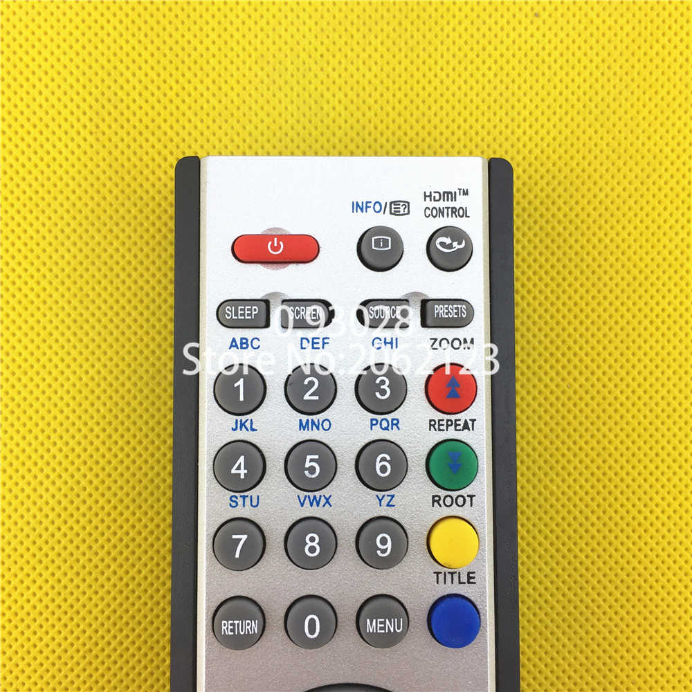 "RC1900 afstandsbediening voor OKI TV 16, 19, 22, 24, 26, 32 inch, 37,40, 46 "", V19, L19, C19, V22, L22, V24, L24, v26, L26, C26, V32, L32, C32 V37"