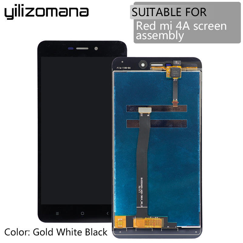 YILIZOMANA Original High Quality Replacement LCD Display Digitizer Touch Screen Assembly with Frame For Xiaomi Redmi 4A Tools in Mobile Phone Touch Panel from Cellphones Telecommunications