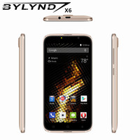 Oryginalny Smartfony BYLYND X6 tanie celular MTK6580 Quad Core gry 5.0 7-calowy Android 6.0 telefony komórkowe 3G WCDMA GPS 1G RAM 5MP