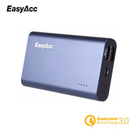 Easyacc 10000mAh Powerbank Qualcomm Quick Charge 3 0 Dual Port Power Bank Portable Fast USB Charger