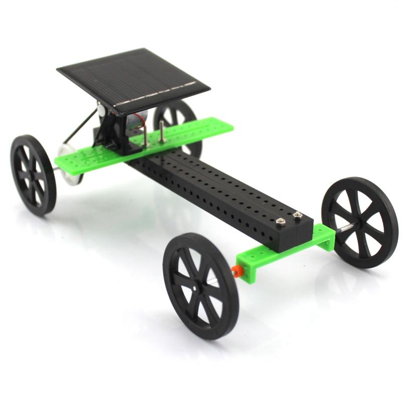 Assembly Model Diy Technology better w Educational Toys Solar Toy Car