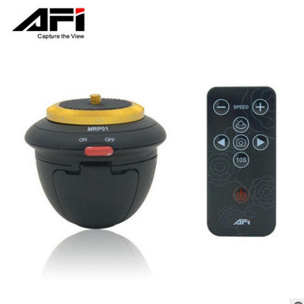 AFI MRP01 Telecomando 360 Gradi Lasso di Tempo di Rotazione Elettrico Panorama Testa Per Selfie Stick Action Camera Smartphone